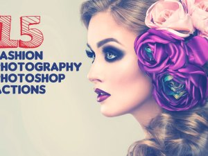 Free Fashion Photoshop Actions