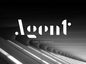 Agent Free Font