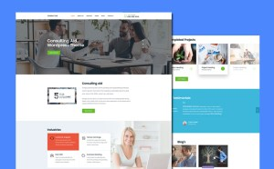 Consultancy PSD Website Template