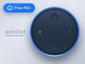 Echo Dot PSD Template