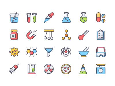 Free Chemistry Icon Set