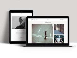Free Portfolio PSD Template for Photographer
