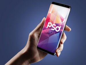 Free Samsung Galaxy S8 Mockup