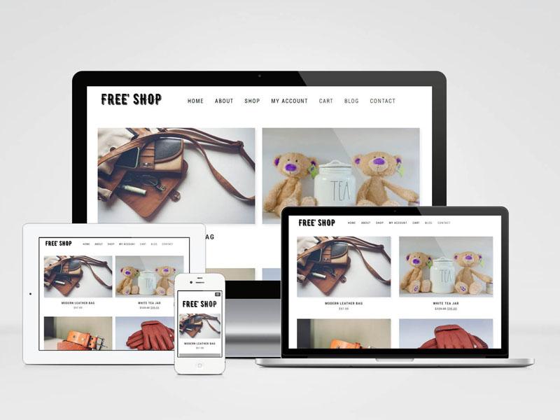 Free Shop : Minimal Woocommerce Theme