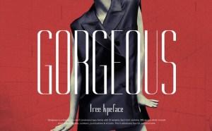 Gorgeous Free Typeface