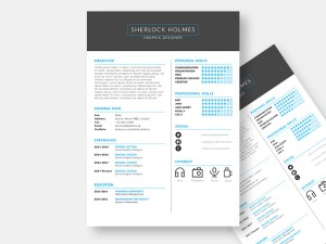 Holmes Resume Template