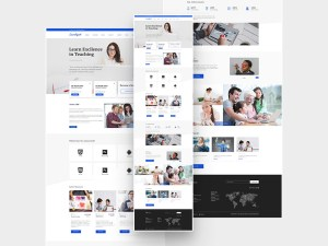 LearnXpert : Free Education PSD template
