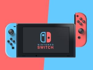 Nintendo Switch Vector Design