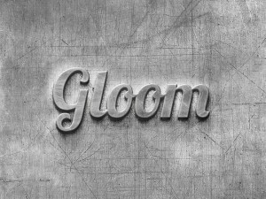 Scratched Metal Text Effect PSD