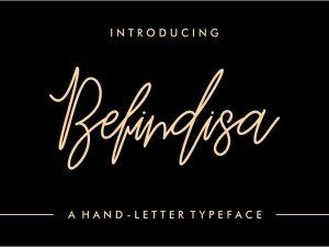 Befindisa free font