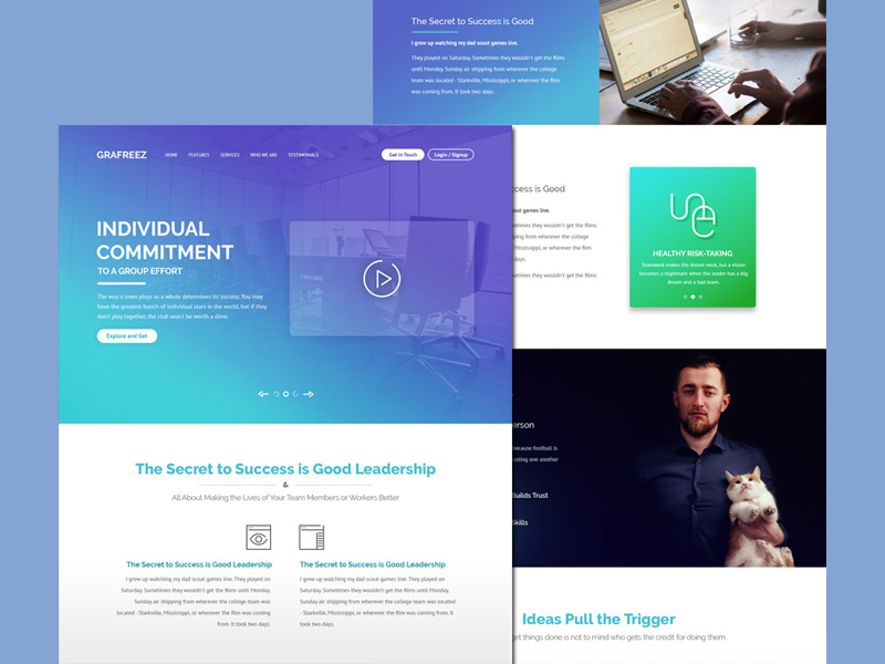 Bureau : Agencies Website Template