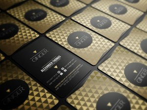 Free CEO Business Card Template