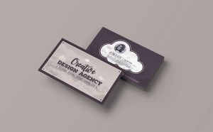 Creative Vintage Business Card Template