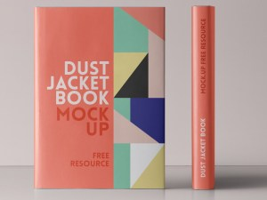 Free Dust Jacket Book Mockup
