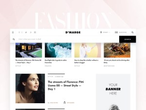 Fashion News Web Template