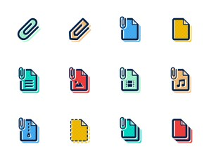 Free File Attachment Icons