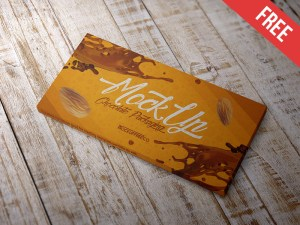 Free Chocolate Packaging PSD