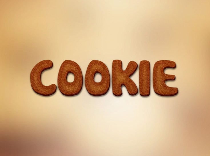 Free Cookie Text Effect