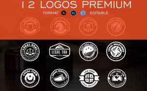 12 Free Law Logo Template