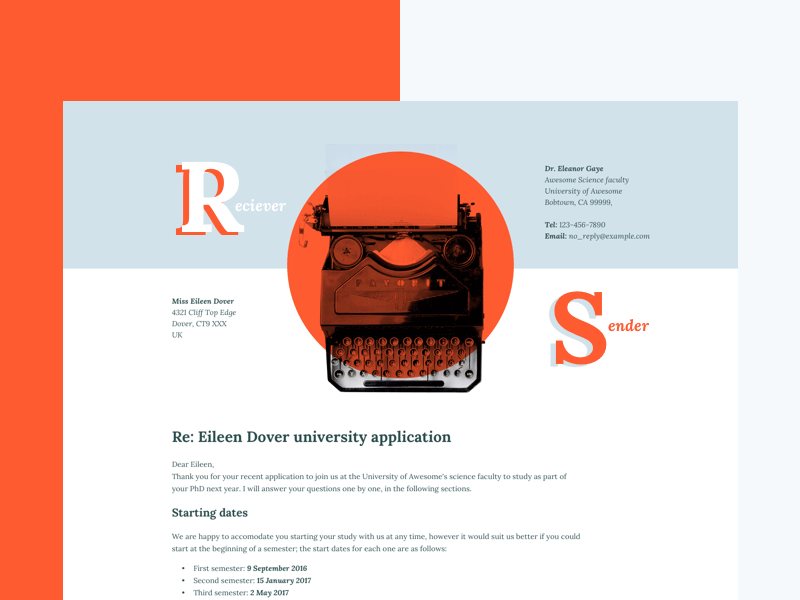 Free Letter Sketch Template
