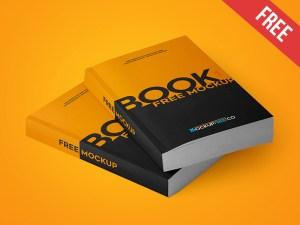 Free Paperback Book Mockup PSD