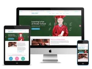 Free Preschool and Kindergarten Wordpress Theme