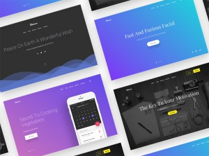 Free Sketch Header Backgrounds Slides