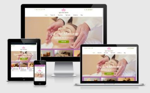 Free Spa and Salon Wordpress Theme