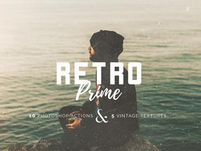Free Vintage Prime Photoshop Action