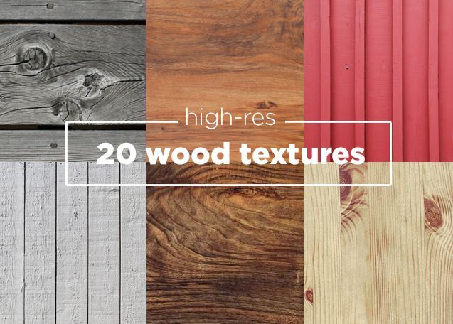 20 Free Wood Textures
