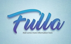 Fulla Text Effect