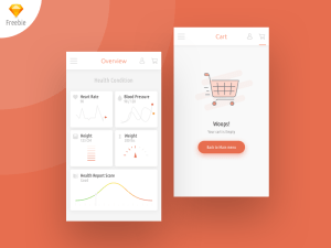 Medical App UI Template