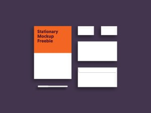 Minimal Stationary Mockup PSD