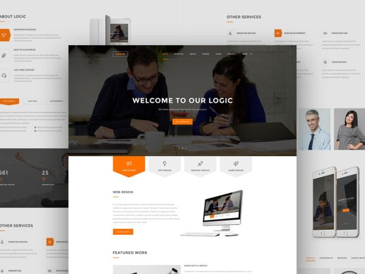 Multipurpose Landing Page Website Template