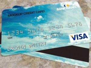 Free Realistic Credit Card Mockup