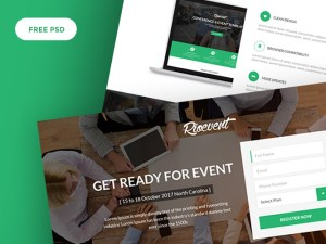 RioEvents Free Event PSD Web Template
