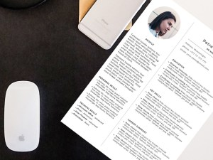 Free Simple Professional Resume Template