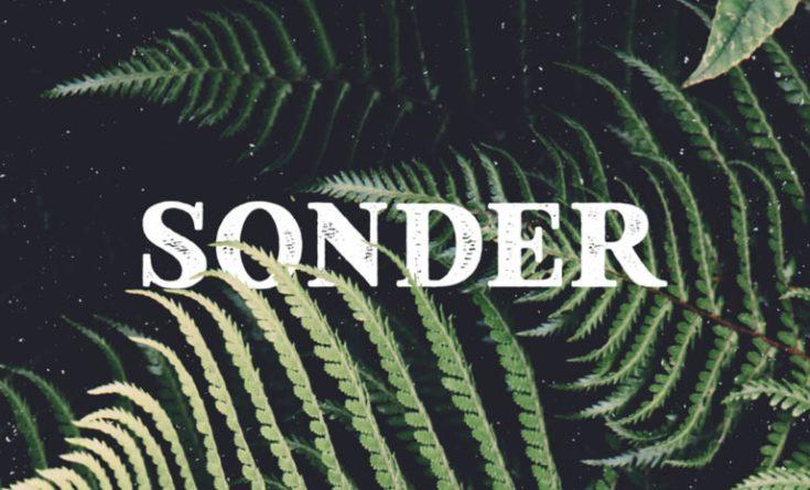 Sonder Free Retro Typeface