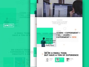 Trio Unity Creative Agency Website Template