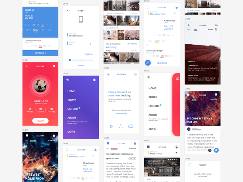 UIME Mobile UI Kit
