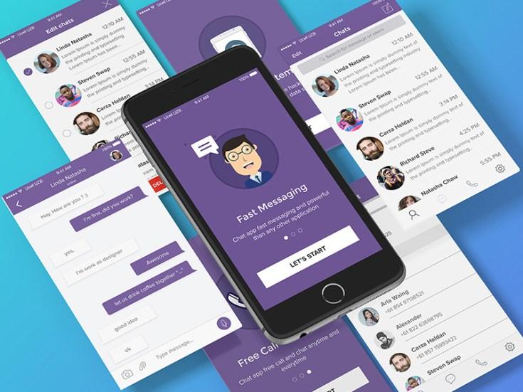 Free Chat App UI Kit