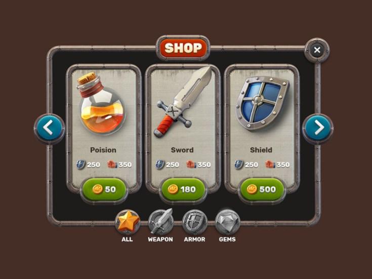Free Mobile Game UI Kit