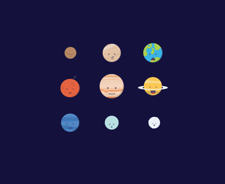 Free Planet Icons