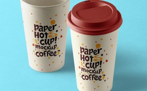 Free Paper Hot Cup Mockup
