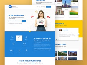 Seller Bailout - Property Website Template