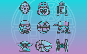 Free Star Wars Icon Set