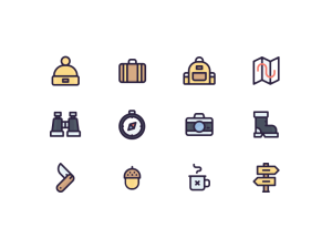 12 Free Travel Icons