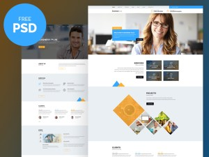 Business Plus PSD Template