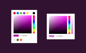 Color Picker Sketch Template