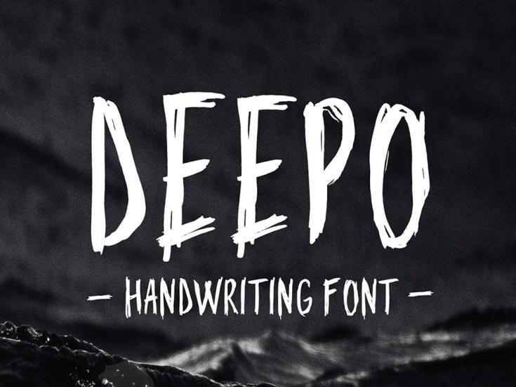 Deepo - Free Handwriting Typeface
